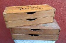 Ancien meuble de métier mercerie layette commerce atelier vintage loft