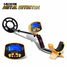 Underground Metal Detector MD-3010II Display Hunter Gold Digger LCD Deep Light