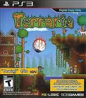 Terraria (Sony PlayStation 3, 2014) DISC ONLY 505 GAMES TEEN FAST SHIPPING PS3