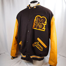 Rare Vintage Marcos De Niza Padres De Long Mens Wool Varsity Letterman Jacket