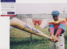 JAMES EARL JONES STAR WARS FIELD OF DREAMS SIGNED 8X10 PHOTO PSA/DNA COA #T60036