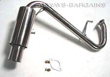 Manzo Stainless Steel Axleback Exhaust Muffler Fits Mazda Miata MX5 99 - 05 1.8L