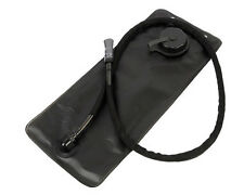 2.5L Hiking Cycling Hydration Water Bladder Pouch Reservoir Black Cap Tube A