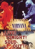 NIRVANA Live! Tonight! Sold Out!! DVD BRAND NEW NTSC R0