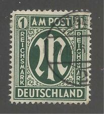 GERMANY #3N20   POSTALLY USED  - 1946 - WITH CERTIFICATE
