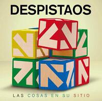 DESPISTAOS - LAS COSAS EN SU SITIO - CD NUEVO Y PRECINTADO - POP ROCK