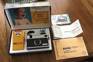 New Vintage 1970's IMPERIAL Instant Load 900,126 Cartridge Camera