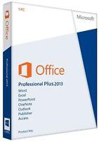 Microsoft Office 2013 Prof. Plus - Product Key für 1 PC + Installations-DVD