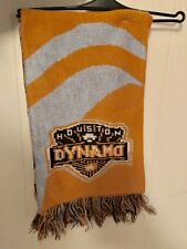 New w Tag NWT Adidas Houston Dynamo Scarf Jacquard MLS Soccer Team Texas gift