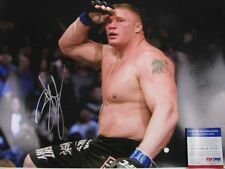 "BROCK LESNER HUGE Hand Signed 16""x20"" Photo + PSA DNA COA K03610"