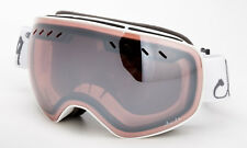 Rose Pink Ski Snowboarding Goggles Spherical Anti-Fog Dual Lens Three Layer Foam