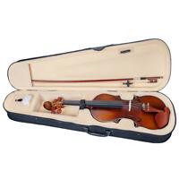 Set di violini in legno giuggiola 4/4 con custodia rigida con arco in resina