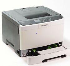 Lexmark CS410DN  Farblaser Drucker Duplex USB Netzwerk nur 8059 gedr. Seite !