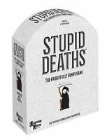 Stupid Deaths Board Game Dark True Or False Board Game Gift