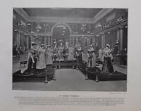 1896 London Stampa + Testo Presso Madama Tussauds