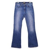 Lucky Brand Womens Size 10/30 Blue Jeans Charlotte Kick Flare Medium Wash