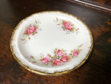 vintage Paragon China Elizabeth Rose trinket / pin dish