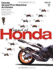 HONDA GRAND PRIX MACHINE ARCHIVES 1979-2010 RC NSR RVF CBR CB NS NR VFR moto GP