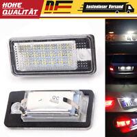 LED SMD Set Kennzeichenbeleuchtung für Audi A3 8P, A4 B6 B7, A53/S3 A3 4F, Q7