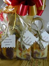 20 Mini Natural Soap Party Favor Wedding Bridal Baby Shower Custom Gift Giving
