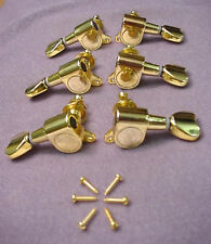 GOLD DIECAST GUITAR MACHINEHEADS heartshape 3+3 - TUNERS