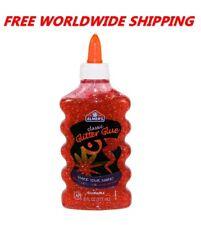 Elmer's Classic Color Glitter Glue Red 6 Fl Oz FREE WORLDWIDE SHIPPING
