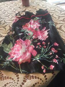 sleepwear women, Size Small, New, Floral Motif, Size 4-6