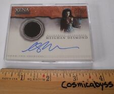 Xena Warrior Princess Autographed costume card AC3 Meighan Desmond insert NICE