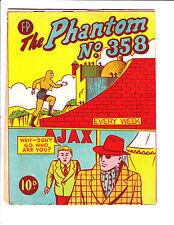The Phantom No 358 1960's? New Zealand Storming Ragon's Castle Cover!