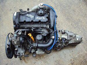 VW Passat B5 Audi Skoda 1999-2006 1.9 TDi Diesel Engine AWX & FHN 5 Spd Gearbox