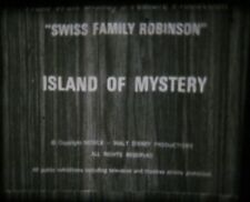 "Super 8mm Film Swiss Family Robinson Island Of Mystery Disney 3"" Reel PREVIEWED"