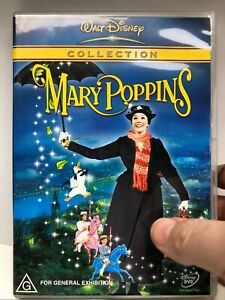 Mary Poppins - Disney - DVD - AusPost with Tracking