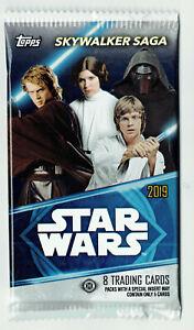 Star Wars Skywalker Saga 2019 Topps Factory Sealed Packet Packs from Open Box