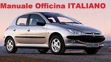 PEUGEOT 206 (1998/2012) Manuale Officina Riparazione ITALIANO