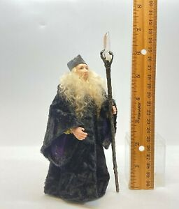 Dollhouse miniature 1/12th scale porcelain wizard by Jan Smith