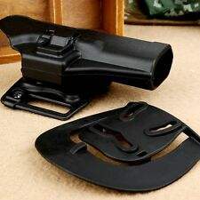 Quick Draw Right Handed Holster Paddle Waist Belt for Glock 17 18 19 23 Pistol