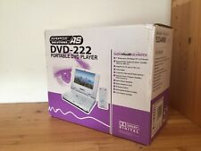"""Acoustic Solutions DVD-222 Portable DVD Player 7"""" - Boxed New"""