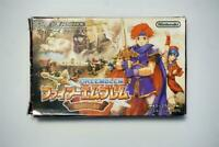 Game Boy Advance Fire Emblem Binding Blade boxed Japan GameBoy GBA game US Selle
