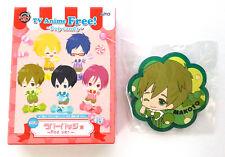 Free! Iwatobi Swim Club - Pop Candy Rubber Badge - Tachibana Makoto pin clip