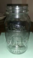 Vintage Anchor Hocking 1776-1976 Bicentennial Liberty Bell Mason Jar 1 Quart