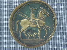 Vide poche sculpture bronze Max Le Verrier Macédonien à cheval vers 460 av. J-C