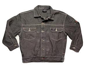 U.S. Polo Assn Mens Denim Jacket Embroidered Logo Size S