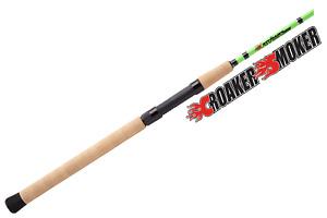 New Castaway Rods Croaker Smoker Cs76S 7'6 Medium Spinning Rod