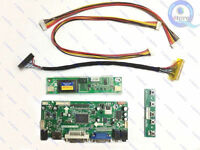(HDMI+DVI+VGA+Audio)LCD Controller Board Inverter Lvds Diy Kit for QD15TL08 WXGA