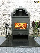 Lotus B 22kw back boiler Wood Burning Multi fuel, Wood Burner Modern Stoves
