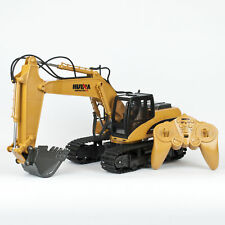 Kids Childs Radio Controlled Truck Excavator Loader Digger Construction Toy 1/14