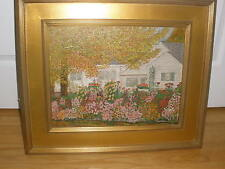 ART OIL ON BOARD SIGNED L. BEISLER    Impressionism