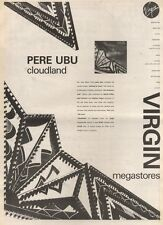 20/5/89Pgn09 Advert: Pere Ubu A New Album 'cloudland' In Virgin Stores 15x11