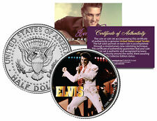 "Elvis Presley ""Aloha Concert""  Kennedy Half Dollar US Coin *Officially Licensed*"