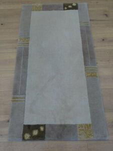 Schöner Handgeknüpfter Orientteppich Nepal TIbet Rug Tappeto Carpet 140x70cm